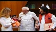 PM मोदी से मिलने अपनी बेटी मदीना के साथ पहुंचे अदनान सामी...