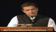 अमेरिका में बोले राहुल गांधी: भारत विचारों का समूह है, जमीन का टुकड़ा नहीं