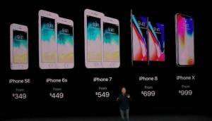 जानिए Apple iPhone X, iPhone 8, 8 Plus, Watch, 4K TV  के भारत में दाम और उपलब्धता
