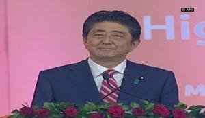 Japan and India together make the word 'Jai', says Shinzo Abe
