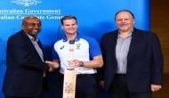 Australian cricket team's bats for charity
