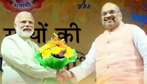 Amit Shah chairs BJP national office bearers' meeting in New Delhi