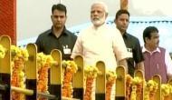 PM मोदी ने 67वें जन्मदिन पर सरदार सरोवर बांध का किया उद्घाटन