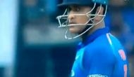 Ind vs Aus : Epic! Yuzvendra Chahal stumps MS Dhoni in Bengaluru, Video