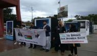 Baloch activists protest outside U.N. against Pakistani atrocities, human rights abuse