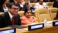 Terrorism can't be justified: Swaraj at SCO meet