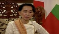 Suu Kyi bats for resisting collateral damage in counter-terrorism operations, avoids mentioning Pak