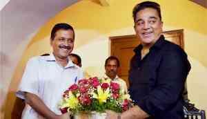 New political allies? Kejriwal meets with Kamal Haasan in Chennai