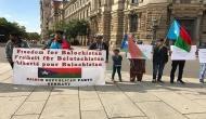 JSMM, Sindhi, Baloch organisations hold protest outside U.N. amid Pak PM's visit