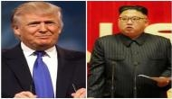 US President Donald Trump says he and North Korea leader Kim Jong Un 'in love'