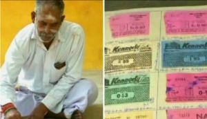Now that's something new-Man collects every movie ticket he watched since 1979