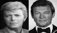 David Bowie used to 'hide under the table' to avoid Roger Moore
