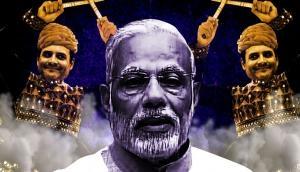 कांग्रेस अध्यक्ष बनने पर राहुल गांधी को पीएम मोदी ने पहनाया जीत का 'हार'