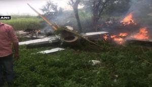 भारतीय वायुसेना का ट्रेनर विमान तेलंगाना में दुर्घटनाग्रस्त