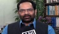 Union Minister of Minority Affairs Mukhtar Abbas Naqvi to host iftar party for divorced women, their families tomorrow