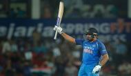 रोहित शर्मा ने लगाया शतक, अय्यर ने लगाई वनडे में पहली फिफ्टी