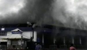 Goa: Fire breaks out at bus stand in Panaji