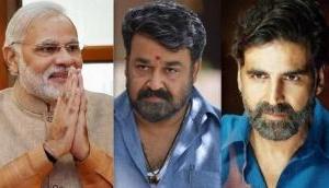 Here is why PM Narendra Modi appreciates Mohanlal and Akshay Kumar