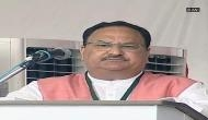Development in Himachal began only after BJP came to power at Centre: Nadda
