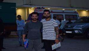 Aamir Khan and Virat Kohli exchange special gifts