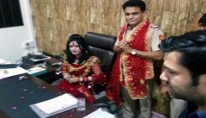Radhe Maa gets VIP treatment at police station in New Delhi