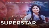 'Secret Superstar' receives standing ovation at first copy screening