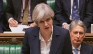 Prankster Lee Nelson interrupts British PM Theresa May's speech