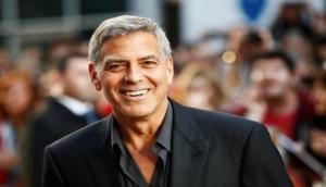 George Clooney talks on 'Jimmy Kimmel Live' about his twins