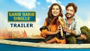 Qarib Qarib Singlle trailer: Irrfan Khan and Parvathy looks quirky in the romantic journey