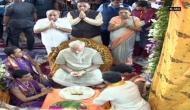 PM Narendra Modi arrives in Dwarka, attends special puja at Dwarkadhish Temple