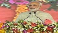 NDA has brought Narmada waters to villages: PM Narendra Modi