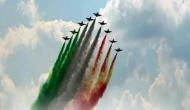 Air Force Day: Here is how formation team enthralls audience by painting the skies in red & white