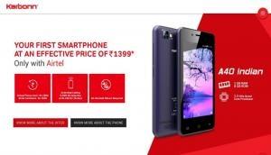 मुस्कुराइए अगर नहीं खरीदा है Jio Phone, Airtel लाया इससे भी सस्ता 4G स्मार्टफोन
