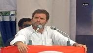 Rahul Gandhi says, 'Private players handling education sector in Gujarat'