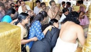 Sabarimala Temple protest: Two women devotees reach Sabarimala Temple on its opening day, sent back by protestors