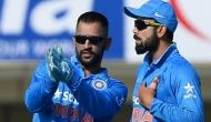 This legendary batsman believes that just the presence of MS Dhoni is highly beneficial for Virat Kohli