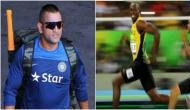 Super-boy MS Dhoni can even defeat lightening Usain Bolt; Here's why