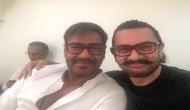 Aamir Khan meets Ajay Devgn ahead of Secret Superstar, Golmaal Again release