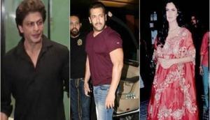 Bollywood Diwali Party! Shah Rukh Khan, Salman Khan, Katrina Kaif and others parties at Arpita Khan's place