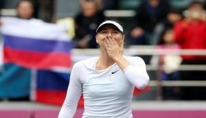 Maria Sharapova moves up by 29 spots in WTA Rankings
