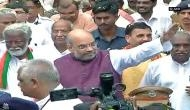Amit Shah leads BJP's Jan Raksha Yatra in Trivandrum