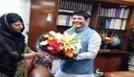 Mehbooba Mufti meets Piyush Goyal, discusses railway projects