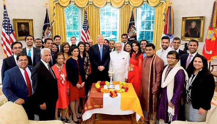In Photos: From Donald Trump to Modi, this is how these political leaders celebrated Diwali