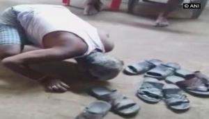 सीएम के शहर में शर्मिंदा हुई इंसानियत, चप्पलों से पिटाई कर बुजुर्ग से चटवाया थूक