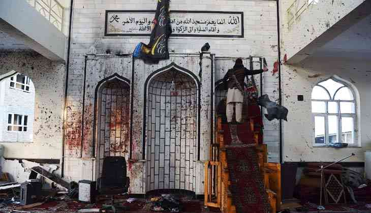 In Photos: Blood and death as Shia mosque in Kabul is hit by suicide bomber