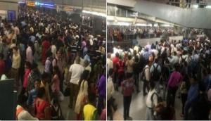 Delhi Metro blue line services halted for 45 min due to technical glitch