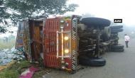 कर्नाटक में बड़ा हादसा, रोड एक्सिडेंट में 13 लोगों की मौत