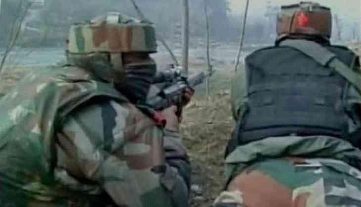Hajin encounter: One terrorist gunned down, operation still underway