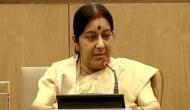 Sushma Swaraj to meet Bangladesh PM in Dhaka today