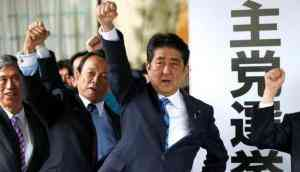 Polling underway in Japan's snap election